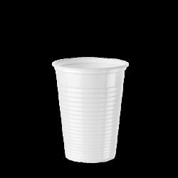 Verre plastique blanc 20 cl...