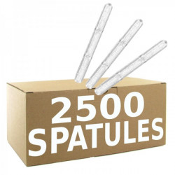 2 500 agitateurs plastique...